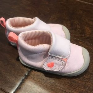 Pink carters shoes